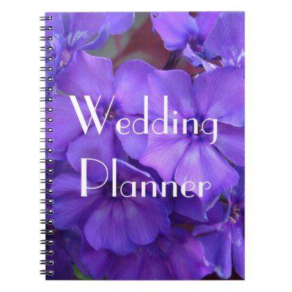 Blue phlox flowers wedding planner notebook cyo customize create blue phlox flowers wedding planner notebook cyo customize create your own personalize diy mightylinksfo