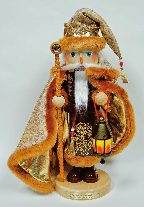 Florentine Santa Steinbach Nutcracker. I have a huge thing for nutcrackers:)
