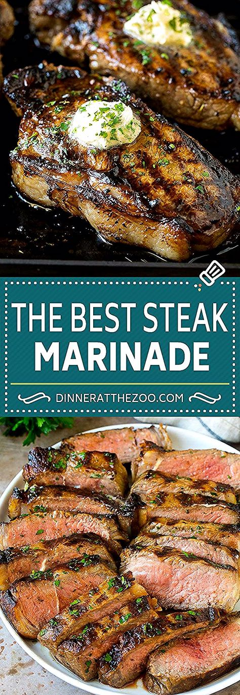 Steak Marinade Recipe   Marinated Steak   Grilled Steak #steak #keto #lowcarb #grilling #marinade #dinner #dinneratthezoo