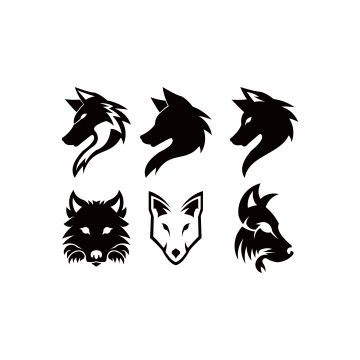 Wolf Head Logo Mascot Emblem Wolf Clipart Logo Icons Wolf Icons Png And Vector With Transparent Background For Free Download Wolf Silhouette Wolf Clipart Wolf