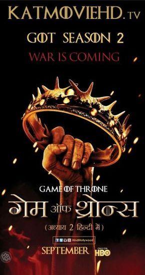 Game of Thrones S02 Hindi + English 1080p 720p 480p Dual Audio