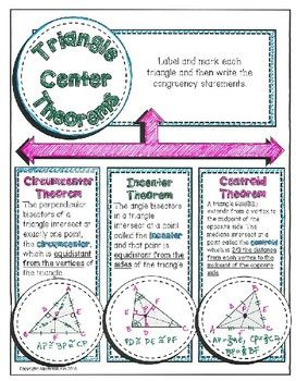 23++ Centers of triangles circumcenter and incenter worksheet Info
