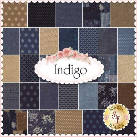 Indigo By Moda Fabrics - Charm Pack: Indigo by Moda Fabrics. 100 ... : moda quilt fabric - Adamdwight.com