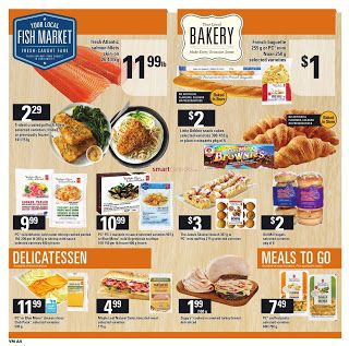 Valu Mart Flyer Valid January 4 10 2018 So Easy To Save Food To Go Flyer Delicatessen