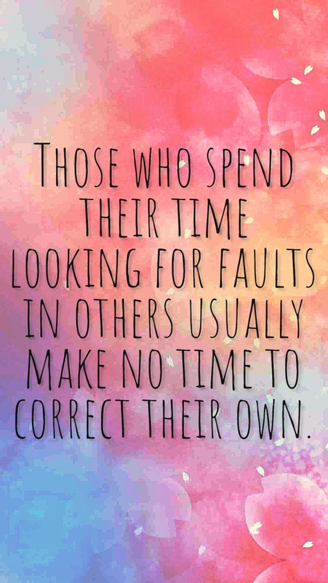 who spend their time judging others should often look at why they do this when they themselves are not perfect.Those who spend their time judging others should often look at why they do this when they themselves are not perfect. Wise Quotes, Words Quotes, Wise Words, Quotes To Live By, Motivational Quotes, Funny Quotes, Inspirational Quotes, Judging Others Quotes, Quotes About Being Judged
