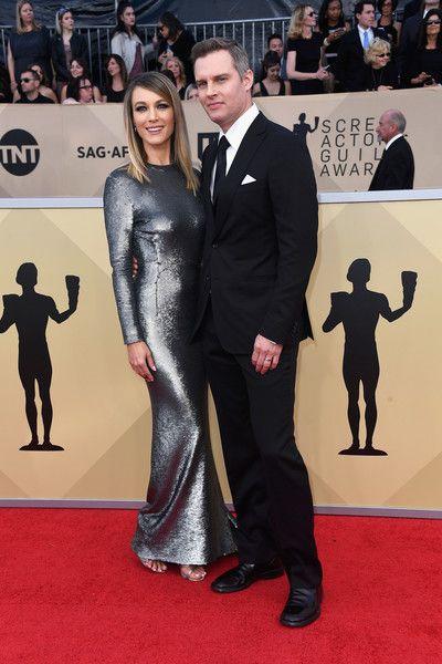 Natalie Zea & Travis Schuldt - The Cutest Couples At The 2018 SAG Awards - Photos
