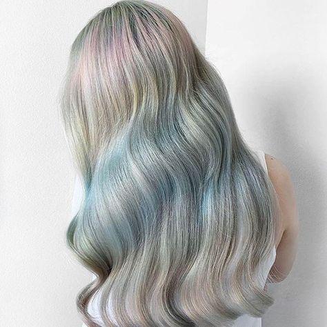 Muted ocean blue waves  Color by: @chitabeseau using #pravana #saloncentric #ittakesapro  . . . #pravanasingapore #chromasilk #vivid #hair #color #haircolor #hairgoals #hairinspo #hairtransformation #mutedcolors #wavyhair #waves #bluehair #subtle #dreamy #oceanblue #ashcolor #ashhair #longhair #Tuesday #Tuesdate #TransformationTuesday #TuesdayTreat #GoodNewsTues #TuesdayThoughts