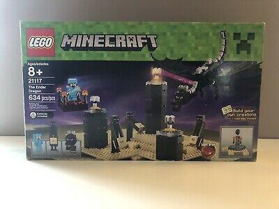 VERY RARE LEGO ORIGINAL MINECRAFT ENDER DRAGON FROM SET 21117