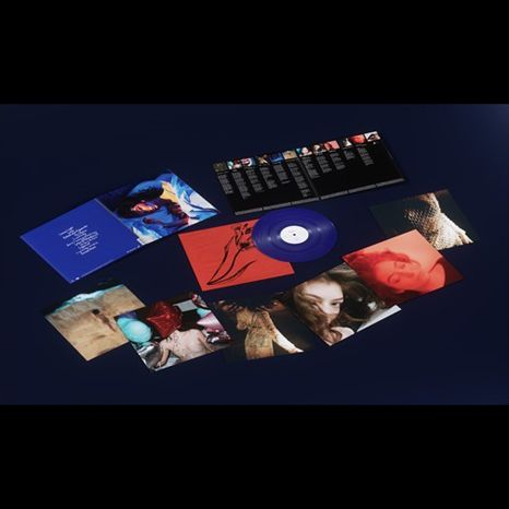 Lorde Melodrama Deluxe Version 180 Gram Translucent Royal Blue Colored Vinyl Double Gatefold Jacket Double Sided Record Sleeve Sell Music Vinyl Music Gear