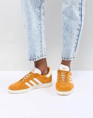 gazelle femme adidas moutarde