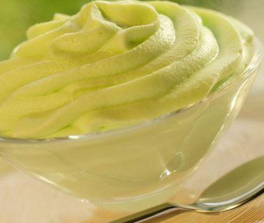 Frozen Lemon Avocado Pudding #HealthyRecipes #LYFEKitchen #Frozen #Lemon #Avocado #Pudding #EATGood #FEELGood
