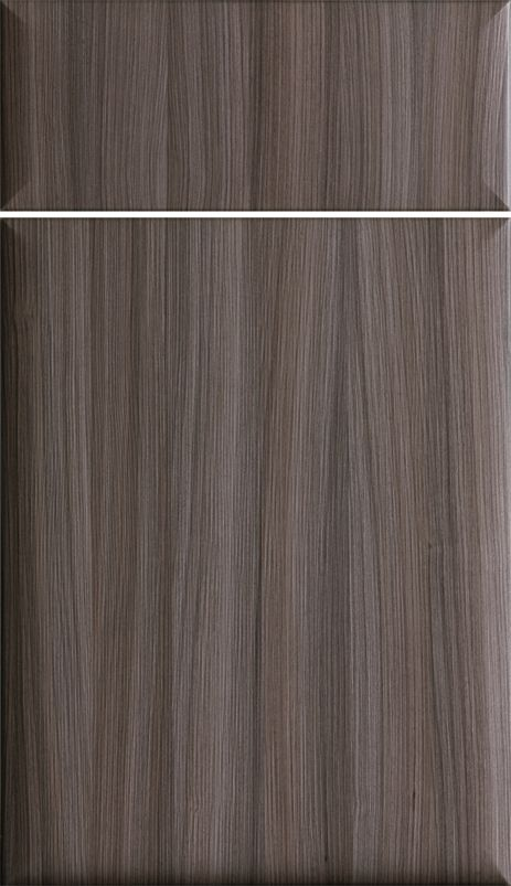 Icon - Verticle Textures Foil Door, Cabinetry, Cabinet Door, Shown ...