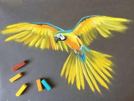Image Result For Mayak Maslyanaya Pastel Pasteldrawings Pastel Dibujo Arte En Colores Pastel Dibujos Con Gis Pastel