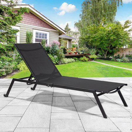Patio Garden Patio Chaise Lounge Outdoor Chaise Lounge Chair Outdoor Patio Chaise Lounge