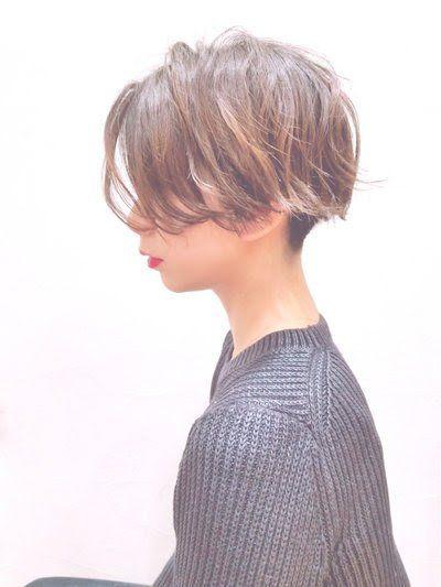 モードっぽさ抜群 襟足刈り上げショート 川田 義人 Greek Hairdesign