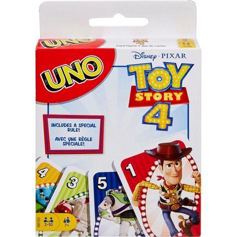 uno jeu de carte Jeu de cartes famille Uno Toy Story MATTEL GAMES : la boîte à Prix