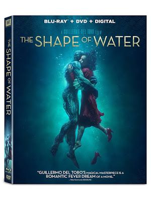 New On Dvd And Blu Ray The Shape Of Water 2017 Hd 1080p
