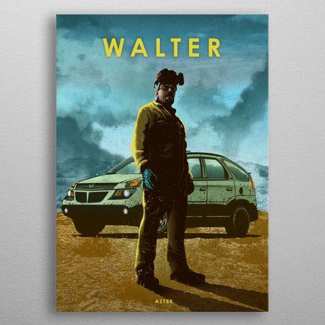 'Walter' Poster by Eden Design   Displate