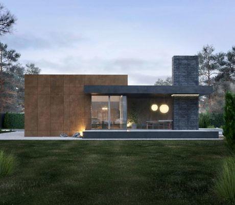 House Rzhavo By Need Design Homeadore Contemporary House Exterior Facade House House Designs Exterior