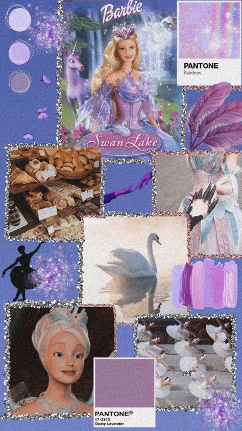 Barbie Swan Lake wallpaper aesthetic