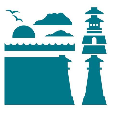 Album Builder-Lighthouse | AccuCut