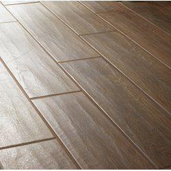 Dark Brown Wooden Floor Tiles