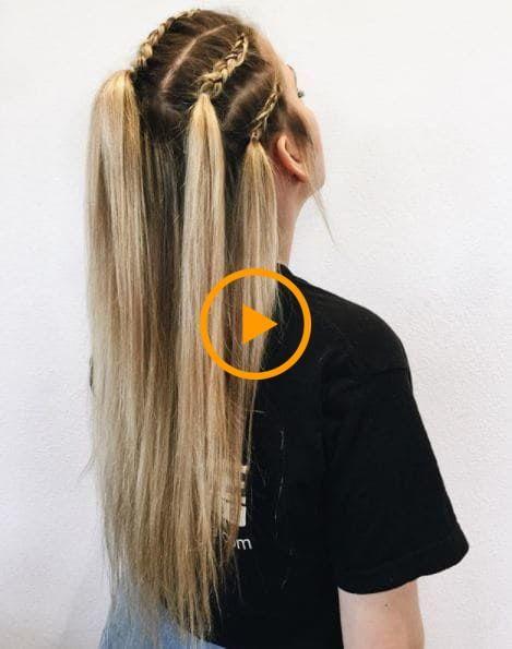 Necesitas Peinados Trenzados Para Cabello Largo No Busques Mas