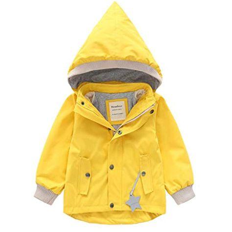Jungen Mädchen warmen Mantel Jacken Top Hoodie Langarm Oberbekleidung Kleidung