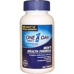 فوائد حبوب One A Day Mens Health Multivitamin Healthy Man