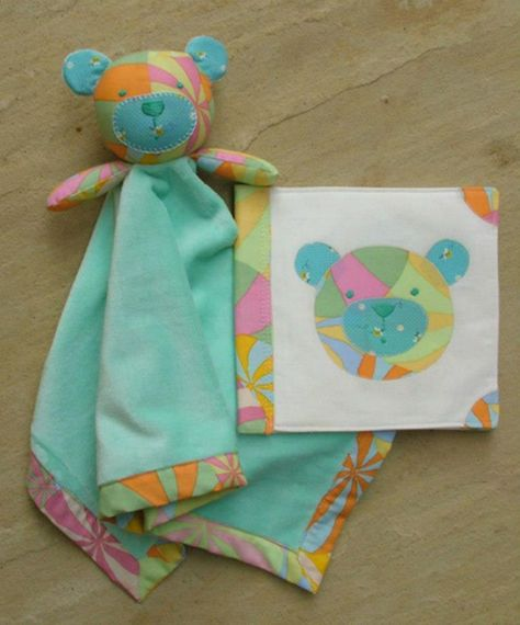 Bambino Blanket Bear and Soft Toy by Melly and Me