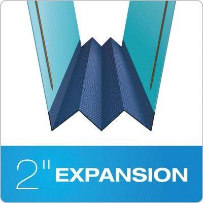 Pendaflex Hanging 4-Section Classification Folder Letter Size Light Blue Top Tab 1 Divider