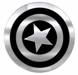 Captain America Shield Chrome Colored Decal Captain America Shield Captain America Tattoo Captain America Logo