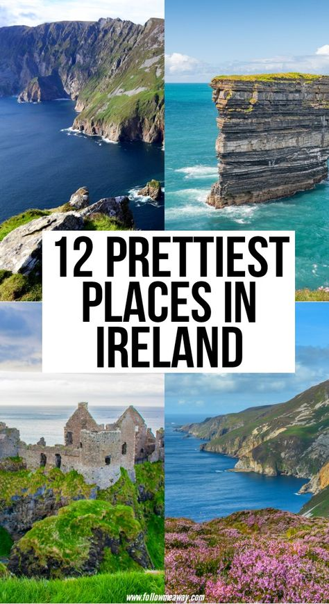 12 Stunningly Beautiful Places In Ireland You MUST visit - - Looking for the most beautiful places to visit in Ireland? You've come to the right place. Be sure to add these spots to your must-see list for Ireland. Beautiful Places To Visit, Cool Places To Visit, Places To Go, Top Places To Travel, Ireland Travel Guide, Europe Travel Guide, Travel Tips, Instagram Inspiration, Travel Inspiration