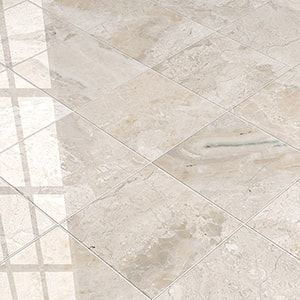 Get Marble Tile Crema Marfil Honed 18x18 In Beige In 2020 Beige Tile Marble Tile Beige