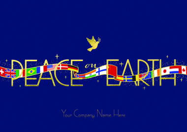 Peace for all nations nation to nation may there be peace on earth peace for all nations nation to nation may there be peace on earth send your hope for global peace with this card from greeting card collection m4hsunfo Images