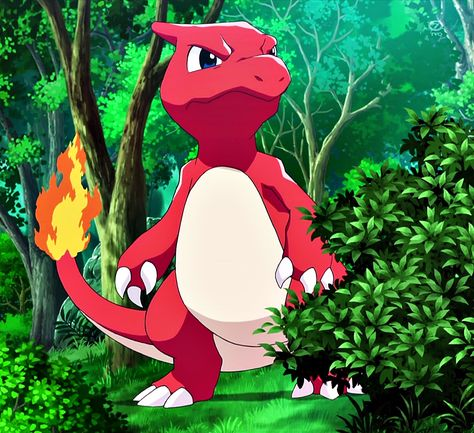 Charmeleon. The first pokemon Sofia caught with mareep's help