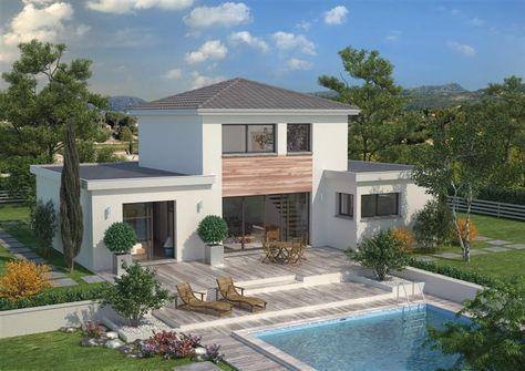 120 best Maison images on Pinterest Modern homes, Architecture and - avantage inconvenient maison ossature metallique