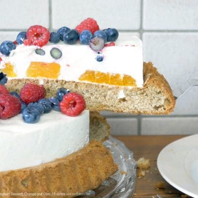 Stippmilch Kuchen Rezept Joghurt Dessert Orange Und Obst Fruchte Rezept Dessert Ideen Joghurt Dessert Kuchen Ideen