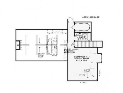 Trendy House Plans With Bonus Room Attic Spaces Ideas Craftsman Style House Plans House Plans House Plans And More