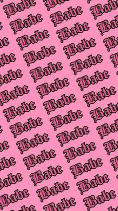 Babe Wallpaper Pink Baddie Bad Girl Wallpaper Pink Neon Wallpaper Shadow Pictures