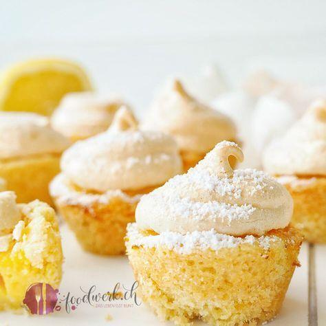 Photo of Erfrischende mini Zitronen Törtchen mit Haube | Food-Blog Schweiz | foodwerk.ch