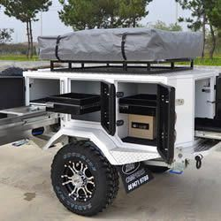 Xtreme Prospector Off Road Caravans Camper Trailers Sales Perth Wa Xtreme Campers Survivaltips Camper Trailer Remodel Expedition Trailer Jeep Trailer