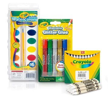 Crayon Melter Watercolor Resist Refill Craft Kit Crayola Com
