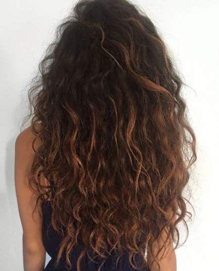 65 Ideas Hair Wavy Perm Curly Hairstyles Hair Styles Natural Wavy Hair Long Curly Hair