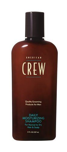 American Crew Daily Moisturizing Shampoo, 8.45 oz by AMERICAN CREW. $3.99. Daily shampoo that naturally tones and moisturizes hair and scalp. Contains Hydrolyzed Wheat Protein, Sage extract and Rice Bran Oil to moisturize and condition  hair without weighing it down. Soothes and replenishes, leaving  scalp healthy and refreshed. For dry hair.. Save 60%!