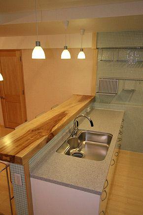 完成 Ikeaキッチンリフォームと自然素材リノベーション 東京都武蔵野市吉祥寺3 リノベーション 東京 マンション キッチン