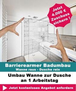 Barrierefreies Bad Mit Diesen Hilfsmitteln Vermeiden Sie Sturze Umbau Dusche Wanne