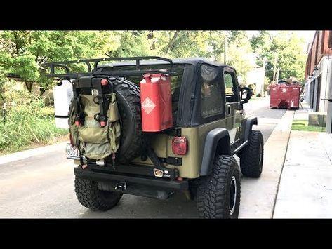 Diy Overland 50 Jeep Cargo Rack Youtube In 2020 Jeep Wrangler Tj Jeep Wrangler Diy Jeep Wrangler Accessories Diy