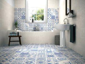 Ideale Caldaia Sopra La Vasca Da Bagno Patterned Floor Tiles Wall And Floor Tiles Mosaic Floor Bathroom