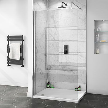 Orion White Marble 2400x1000x10mm Pvc Shower Wall Panel Shower Wall Panels Pvc Shower Bathroom Wall Panels
